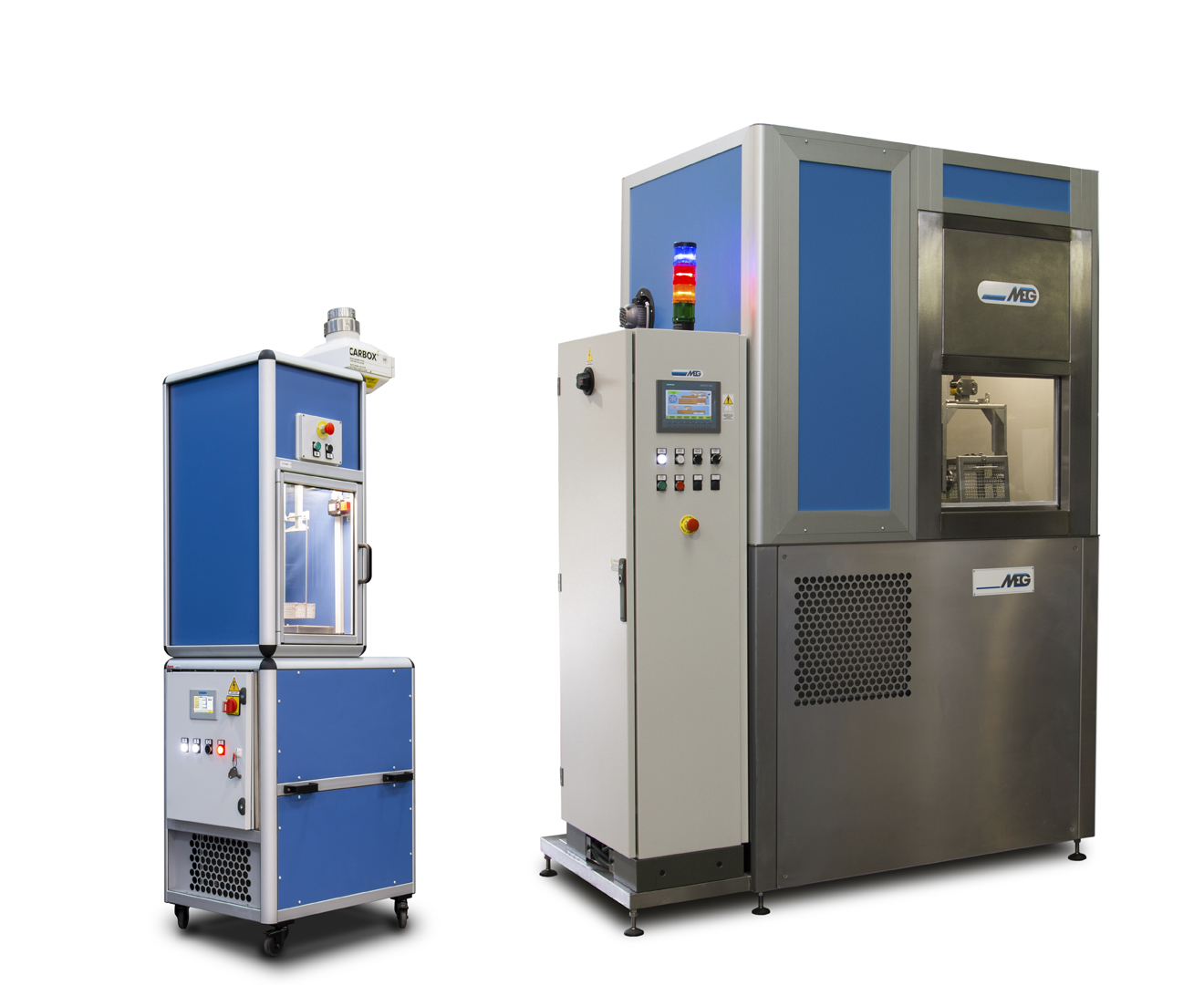 MEG solvent machines